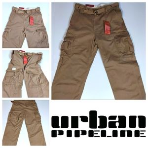 Urban Pipeline Cargo Pants Distressed With Belt